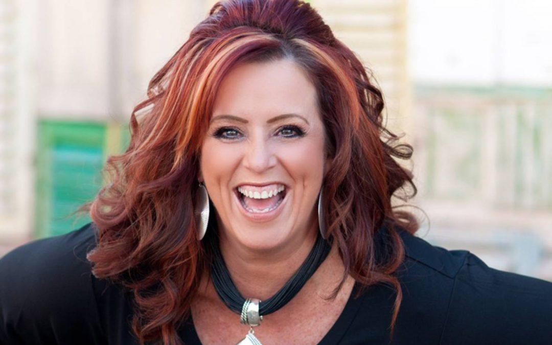 Speaker Kelly Swanson talks about strategic storytelling
